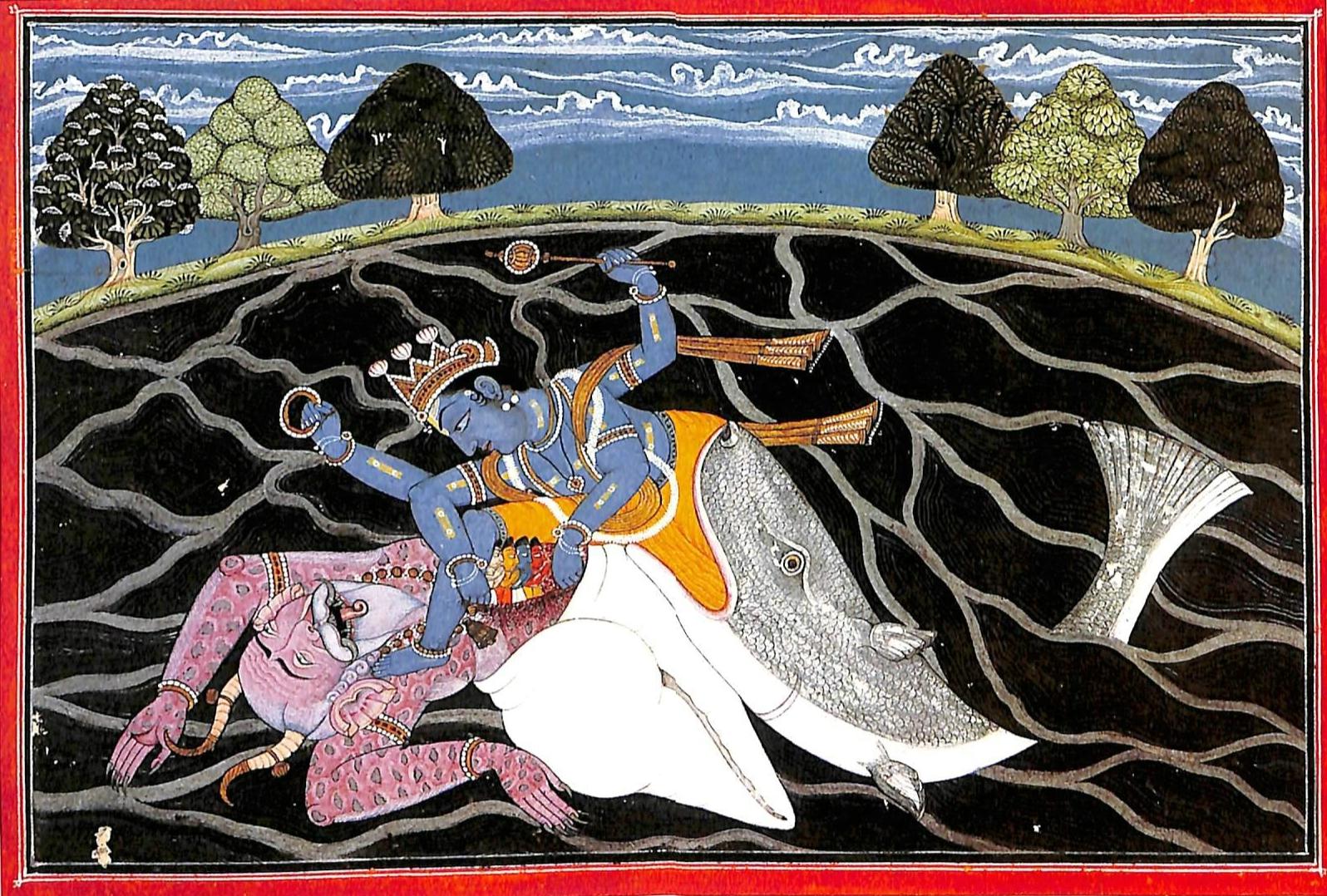 File:Matsya, the Fish-Incarnation of Vishnu.jpg - Wikimedia Commons