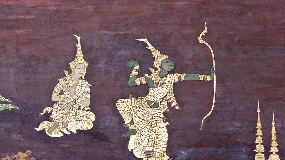 Image result for thai ramayana